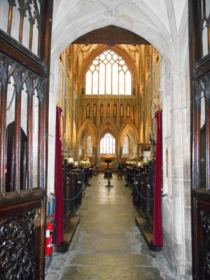 Entrance to the Quire