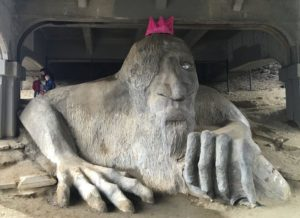 And Seattle again: the Fremont Troll